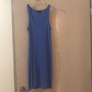 Ralph Lauren periwinkle tennis dress